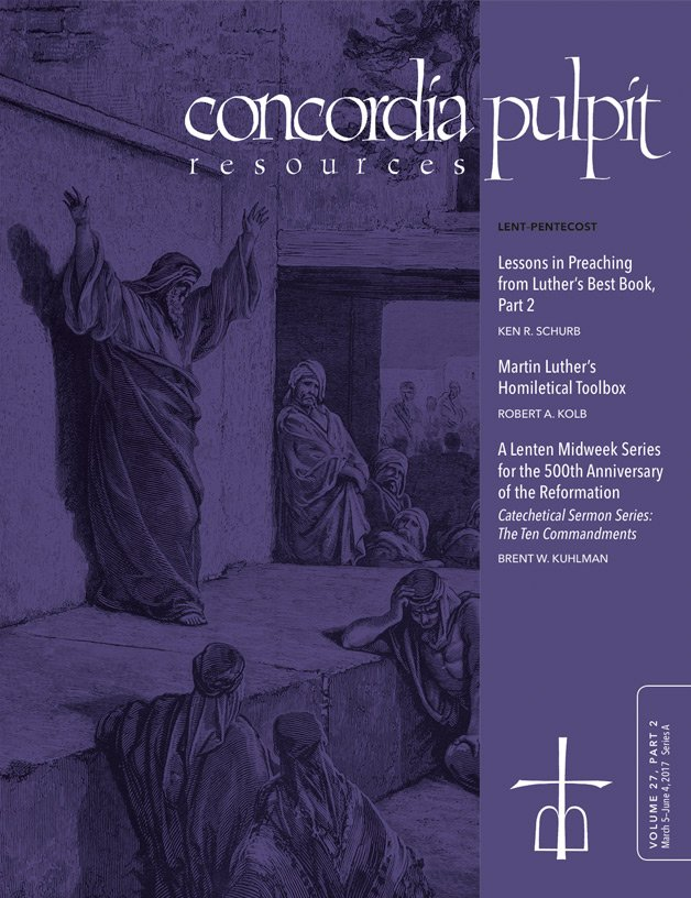 Concordia Pulpit Resources