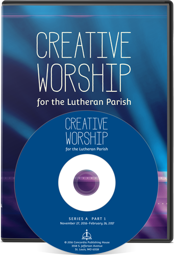 Creative Worship Disc and Case
